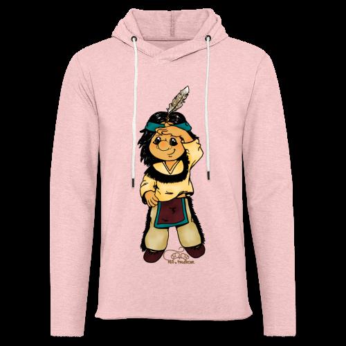 Präriefreund auf Mokassins - Leichtes Kapuzensweatshirt Unisex