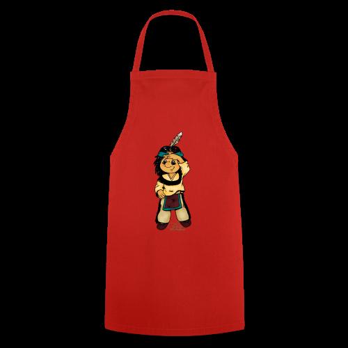 Präriefreund auf Mokassins - Kochschürze