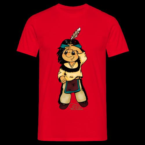 Präriefreund auf Mokassins - Männer T-Shirt