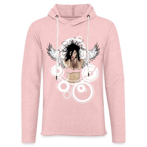 Psychedelic  AngeI - Lichte hoodie unisex