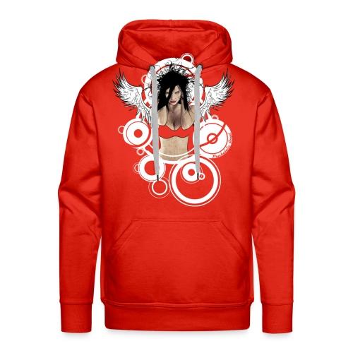 Psychedelic  AngeI - Mannen Premium hoodie