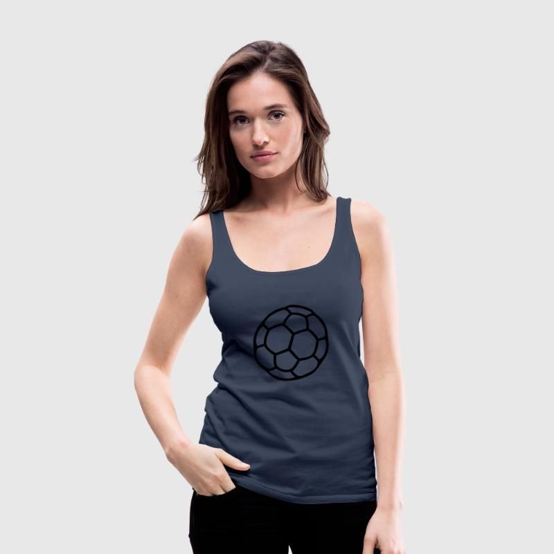 Petrol Handball Tops - Frauen Premium Tank Top