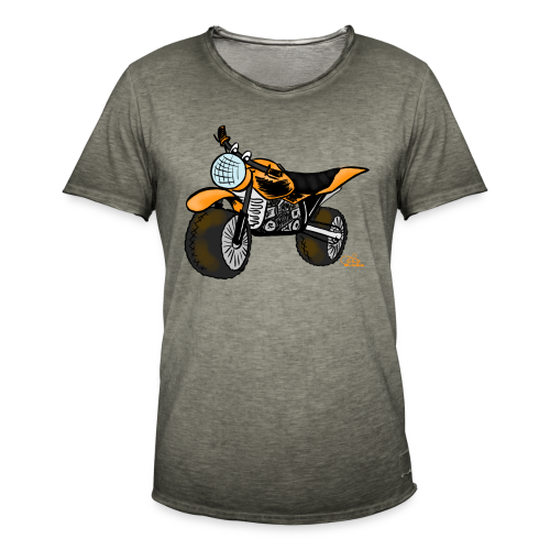 Mopped ^^ - Männer Vintage T-Shirt