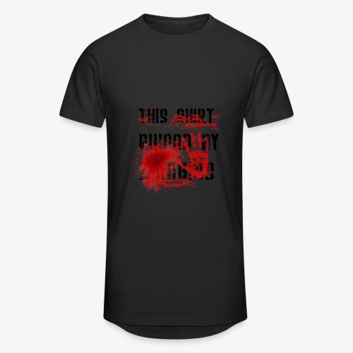 This Shirt ruined by Zombies, Dieses T-shirt wurde von Zombies ruiniert T-Shirts - Männer Urban Longshirt