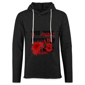 This Shirt ruined by Zombies, Dieses T-shirt wurde von Zombies ruiniert T-Shirts - Leichtes Kapuzensweatshirt Unisex