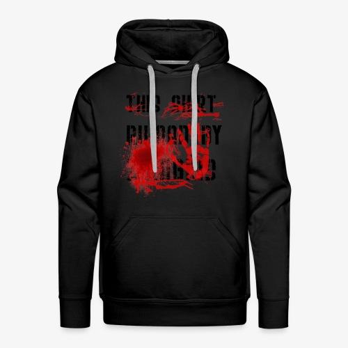 This Shirt ruined by Zombies, Dieses T-shirt wurde von Zombies ruiniert T-Shirts - Männer Premium Hoodie