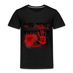 This Shirt ruined by Zombies, Dieses T-shirt wurde von Zombies ruiniert T-Shirts - Kinder Premium T-Shirt