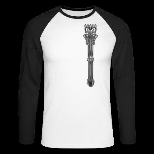 Muskelshirt antike Säule - Männer Baseballshirt langarm