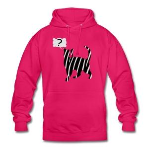 Zebra kissa myyttinen eläin, lumoa hyvin kyseenalainen T-paidat - Unisex Hoodie