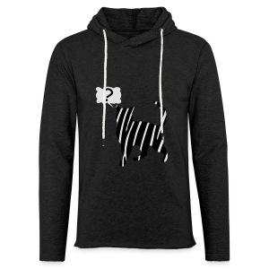 Zebra kissa myyttinen eläin, lumoa hyvin kyseenalainen T-paidat - Leichtes Kapuzensweatshirt Unisex