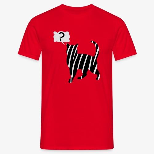 Zebra kissa myyttinen eläin, lumoa hyvin kyseenalainen T-paidat - Männer T-Shirt