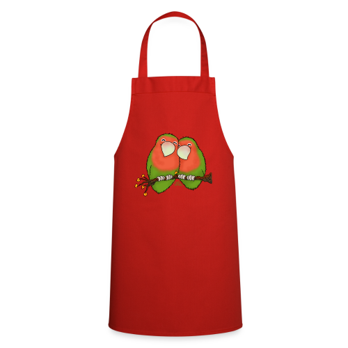 KinderShirt Tommy und Peppi - Lovebirds - Kochschürze