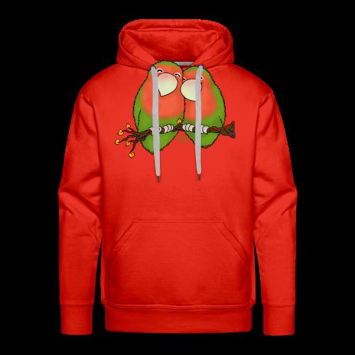 KinderShirt Tommy und Peppi - Lovebirds - Männer Premium Hoodie
