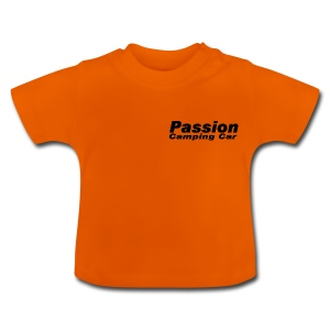 Passion Camping Car - T-shirt Bébé
