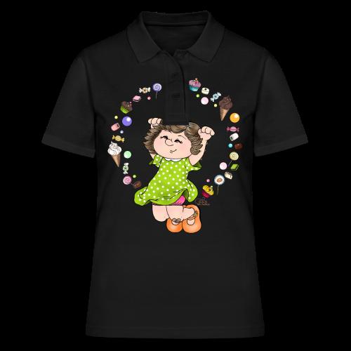 KinderShirt Sweet Caroline - Frauen Polo Shirt