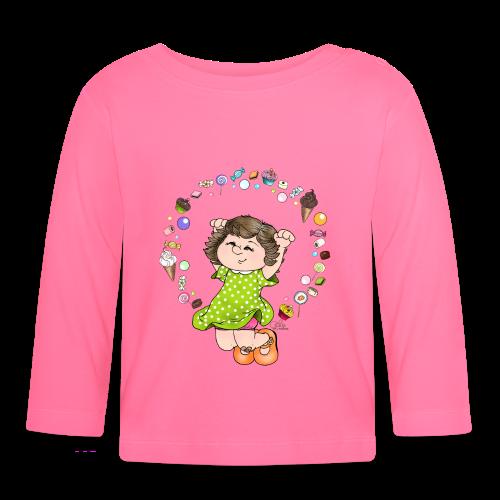 KinderShirt Sweet Caroline - Baby Langarmshirt