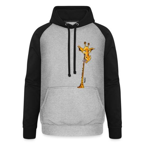 Tee shirt Girafe - Femme - Sweat-shirt baseball unisexe