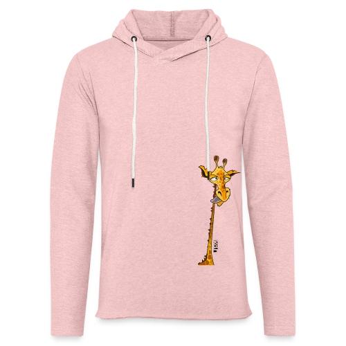Tee shirt Girafe - Femme - Sweat-shirt à capuche léger unisexe