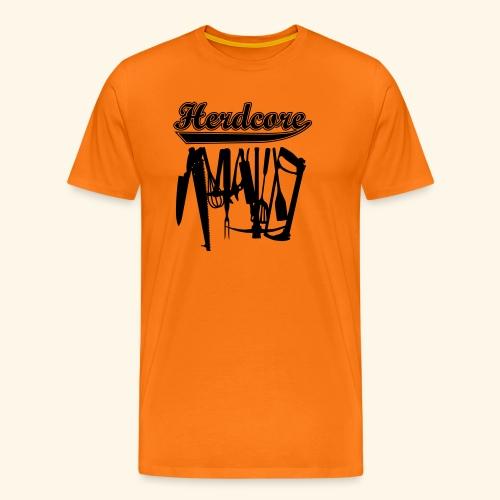 Herdcore, Girlie - Männer Premium T-Shirt