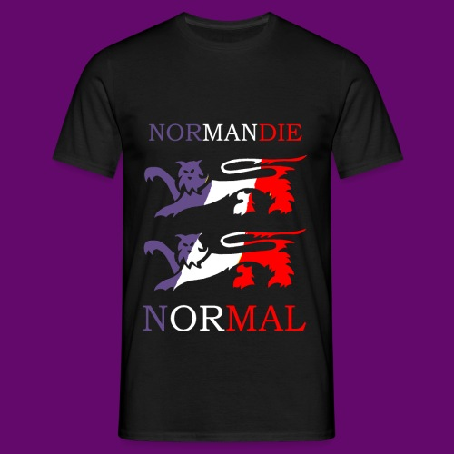 NORMANDIE / NORMAL - T-shirt Homme