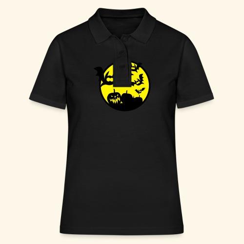 Bats & Pumpkins, Kerlie - Frauen Polo Shirt