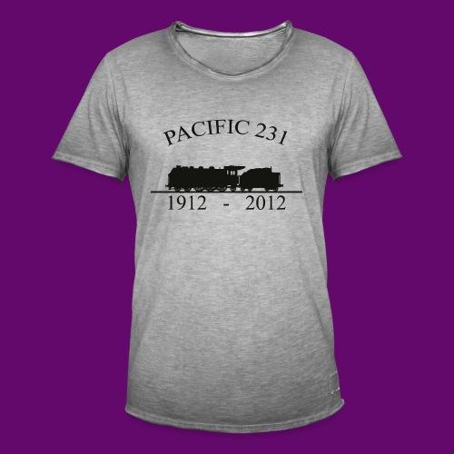 PACIFIC 231 (1912 - 2012) - T-shirt vintage Homme