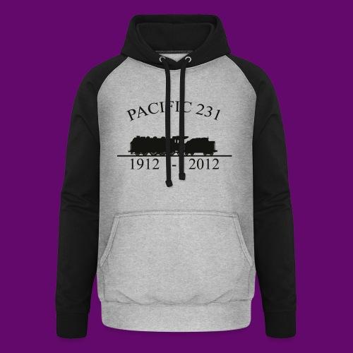 PACIFIC 231 (1912 - 2012) - Sweat-shirt baseball unisexe