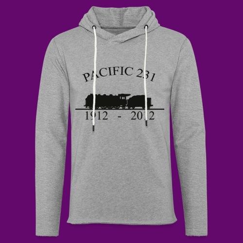 PACIFIC 231 (1912 - 2012) - Sweat-shirt à capuche léger unisexe