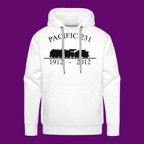 PACIFIC 231 (1912 - 2012) - Sweat-shirt à capuche Premium pour hommes