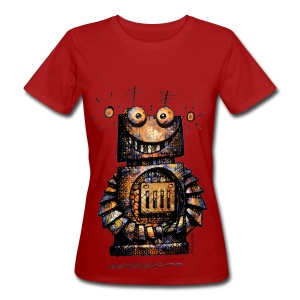 Funny Little Robot  - Women's Organic T-shirt