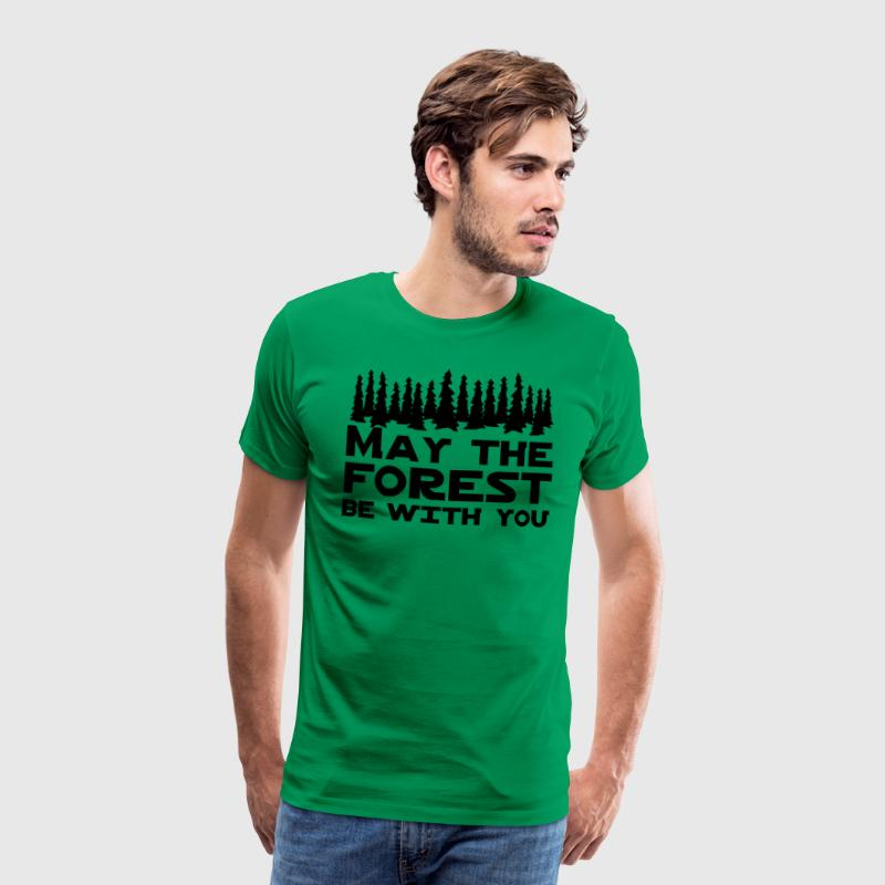 May the Forest Be With You T-Shirts - Men's Premium T-Shirt