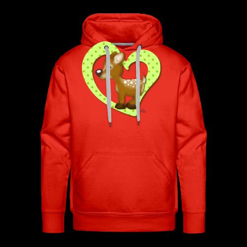 KinderShirt Kira Kitzi Limone - Männer Premium Hoodie