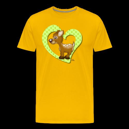 KinderShirt Kira Kitzi Limone - Männer Premium T-Shirt