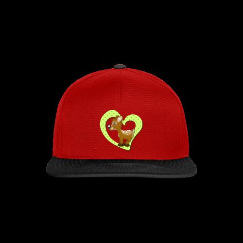 KinderShirt Kira Kitzi Limone - Snapback Cap
