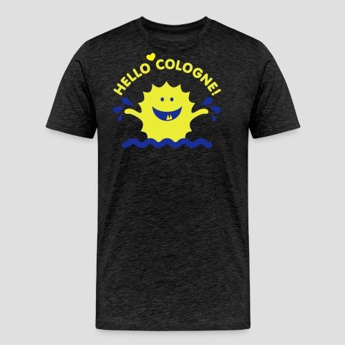 Rhein Monster | Hello Cologne! - Männer Premium T-Shirt