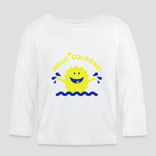 Rhein Monster | Hello Cologne! - Baby Langarmshirt