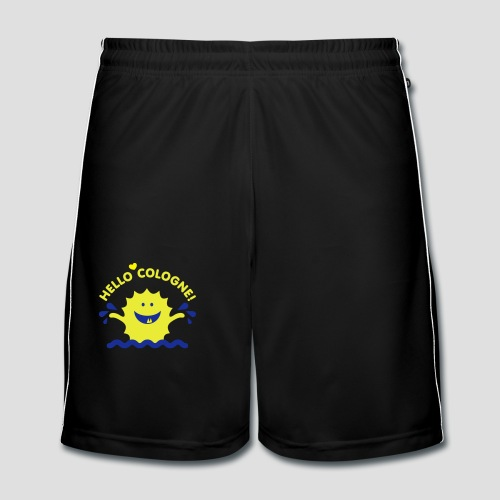 Rhein Monster | Hello Cologne! - Männer Fußball-Shorts
