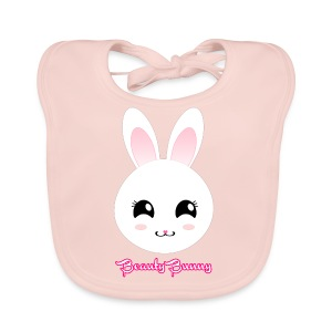 Beauty Bunny Hase Rosa Top Girl - Baby Bio-Lätzchen