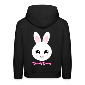 Beauty Bunny Hase Rosa Top Girl - Kinder Premium Hoodie