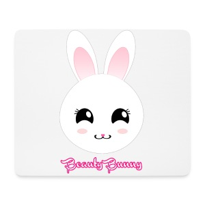 Beauty Bunny Hase Rosa Top Girl - Mousepad (Querformat)
