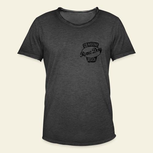 Raredog Design - Herre vintage T-shirt
