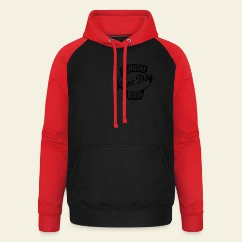 Raredog Design - Unisex baseball hoodie