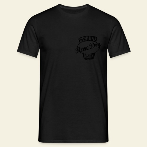 Raredog Design - Herre-T-shirt