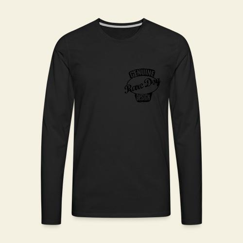 Raredog Design - Herre premium T-shirt med lange ærmer