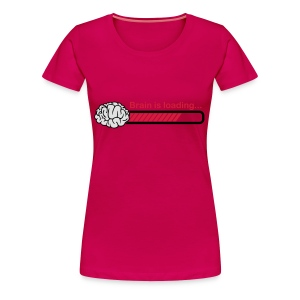 brain is loading Tops - Frauen Premium T-Shirt