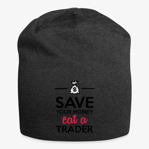 Geld & Trader - Save your Money eat a Trader - Jersey-Beanie