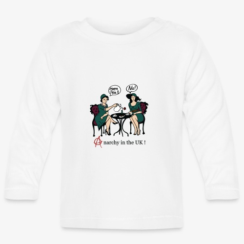 More Tee? No! - Anarchy in the UK! - Baby Langarmshirt