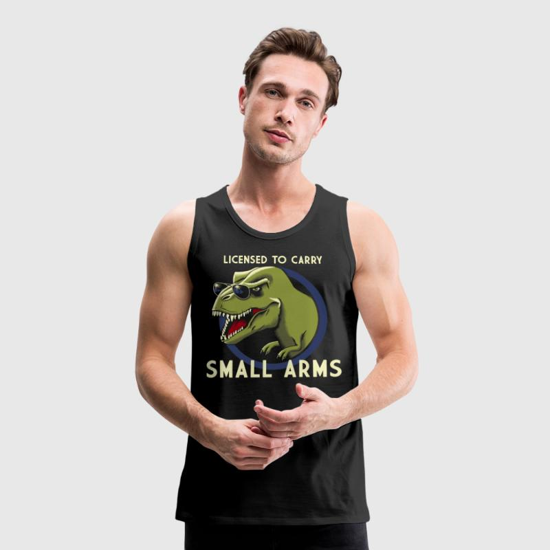 Black  Tank Tops - Men's Premium Tank Top