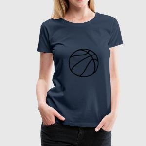 Petrol Basketball Tops - Frauen Premium T-Shirt