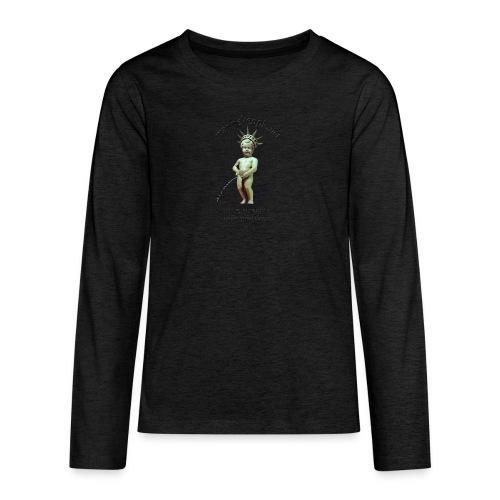 Choose your color - T-shirt manches longues Premium Ado